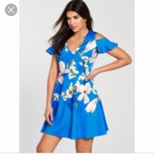 Ted Baker cold shoulder Harmony dress